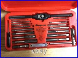 SNAP-ON Tools Mint condition TD 2425 41 Piece Tap & Die Set