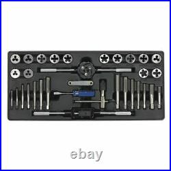 Sealey TBT26 Tool Tray with Tap & Die Set 33pc