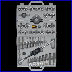 Sealey Tools AK303 Tap and Die Set M6 M24 Fine & Coarse Threads in a Sturdy