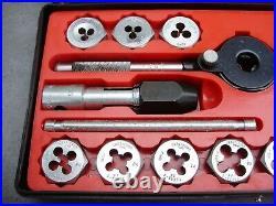 Sears Craftsman 41-piece Kromedge Tap & Hexagon Die Set (9-5201) Complete