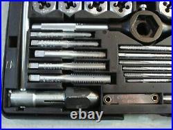 Sears Craftsman KROMEDGE 41 PC TAP & HEXAGON DIE SET + BONUS NICE 9 5201 READ