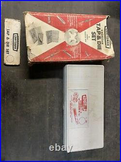Sears Craftsman Kromedge Tap and Hexagon Die Set 5201 Made in USA