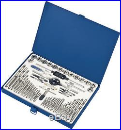 Set Threading In Metric And Inches With Rill Bits 52 Piece Tap And Die Set