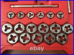 Snap On 117 Piece Master Tap and Die Set TDTDM117A