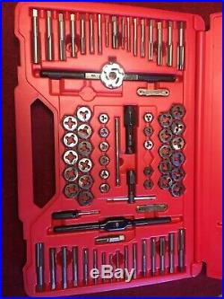 Snap On 117 pc Master Tap and Die Set TDTDM117A