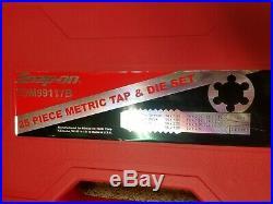 Snap-On 25 Metric Piece Tap & Die Set, Part #TDM99117B