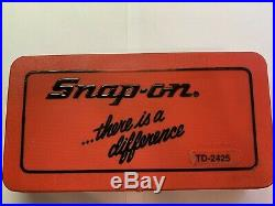 Snap On 41 Piece Td-2425 Sae Tap And Die Set-near Mint-never Used
