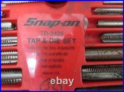 Snap-On 41 pc US Tap and Die Set TD2425