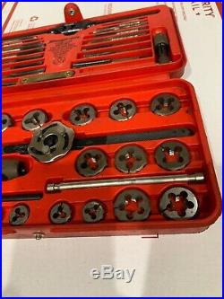 Snap On 42pc Metric Tap and Die Set TDM-117A in Case