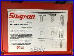 Snap-On 48 Pc. RTD48 Rethreading Tap & Die Set METRIC 10 x 1.5 DIE MISSING