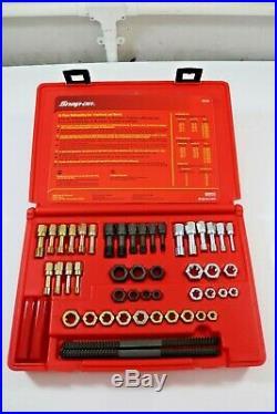 Snap On 48 Pc SAE AF & Metric Thread Restorer Kit. RTD48. Tap & Die Set