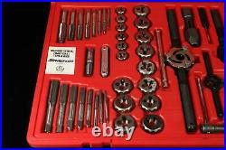 Snap On 76 Pc Complete Master Metric And Fractional SAE Tap And Die Set TDTDM500