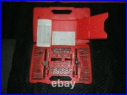 Snap On 76 Pc Tap and Die Set TDTDM500A Metric and SAE Complete