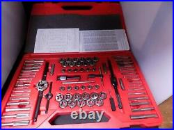 Snap On 76 pc Combination Tap and Die Set. Complete Set! Item TDTDM500A
