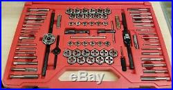 Snap-On 76pc Tap & Die Set (TDTDM500A) SAE & METRIC. A+ CONDITION FREE SHIPPING