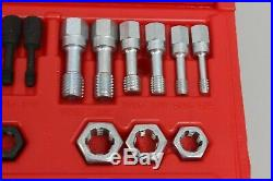 Snap-On RTD48 48-Piece Master Rethreading Tap and Die Set SAE and Metric