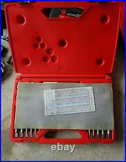 Snap-On (TD9902B) 25 Piece Tap and Die Set Used Great Condition