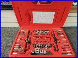 Snap On TDTDM500A 76 Pc Tap & Die Set Great Condition Must See