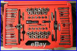 Snap-On TDTDM500A 76-Piece Metric & SAE Tap and Die Set in Case