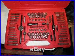 Snap-On TDTDM500A 76 Piece Tap & Die Set Barely Used great condition