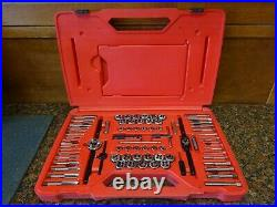 Snap-On TDTDM500A 76-Piece Tap & Die Set In Excellent Shape Ready For Use B-4