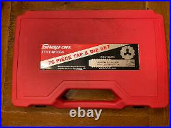 Snap On TDTDM500A 76 Piece Tap and Die Set. Complete Set