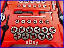 Snap-On TDTDM500A Metric & SAE Tap and Die Set in Case