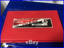 Snap On TDTDM500 76 Piece, Combination Tap and Die Set, US & Metric