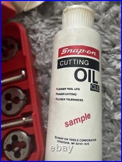 Snap-On Tap & Die Set TD-2425 USA 41 Piece Unused Complete Original Box