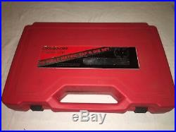Snap On Tap and Die Set Large Application 14-24mm NEW