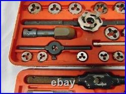 Snap On Tap and Die set TD-2425 in red case USA 40 pcs double hex sockets
