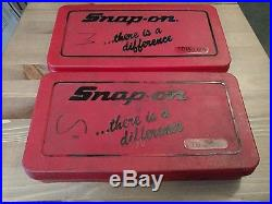 Snap-On Tap and Die sets Metric and standards SAE (one broken tap)
