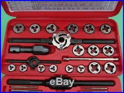 Snap On Tdm117a 41 Piece Metric Tap And Die Set 3mm To 12mm Ships Free USA