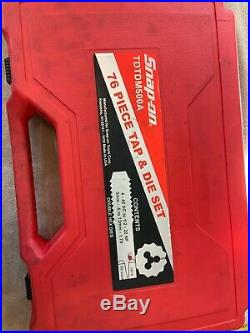Snap On Tdtdm500a, 76 Pc Tap And Die Set