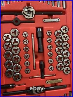Snap On Tdtdm500a 76pc Tap And Die Set. Missing One Pc. Mint Shape