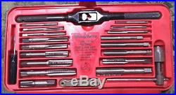 Snap On Tools 41pc TDM-117A Metric Tap & Die Set MM thread wrench pipe kit case