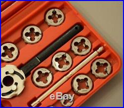 Snap On Tools Metric Tap & Die Set in Case (925) rrp £340 Mint Condition TDM117A