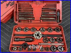 Snap On Tools TD2425 USA Tap and Die Sets Kits Read