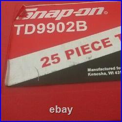 Snap On Tools TD9902B 25-Piece SAE Tap and Die Set