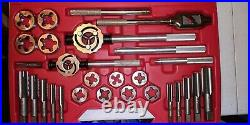 Snap On Tools TD9902B 25-Piece SAE Tap and Die Set Good Condition