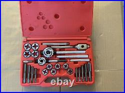 Snap On Tools TD9902B 25-Piece SAE Tap and Die Set Missing Two Pieces