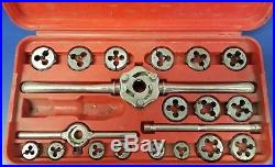 Snap On Tools TDM-117A 41pc Metric Tap and Die Set 3-12mm with Case