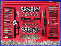 Snap On Tools TDTDM500A 76 pc Combination Tap & Die Set Threading Sae/Metric NEW