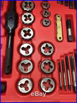Snap On Tools TDTDM500 76 Piece SAE & Metric Combination Tap & Die Set FREE SHIP