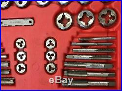 Snap On Tools TDTDM500 76 Piece Tap and Die Metric Set In Case