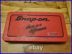 Snap On Tools Tap & Die Set TD-2425 Complete