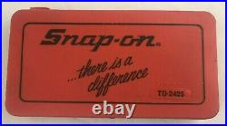 Snap-On Tools USA 41 Piece Tap & Die Threading Set Model TD-2425 See Pics READ
