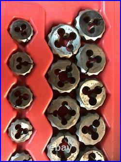 Snap-On Tools USA TDTDM500A 76 pc Combination Tap and Die Set Metric SAE Kit Hex