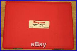 Snap-on 48 Piece Rethreading Set Fractional and Metric RTD48 Made in USA