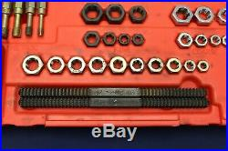 Snap-on 48 Piece Rethreading Set Fractional and Metric RTD48 Made in USA C1